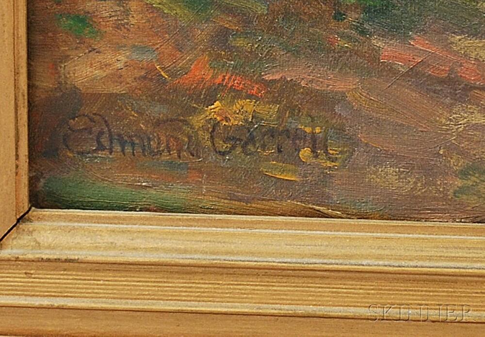 Edmund Henry Garrett (American, 1853-1929)      Châteaudun ,  A French Village Scene