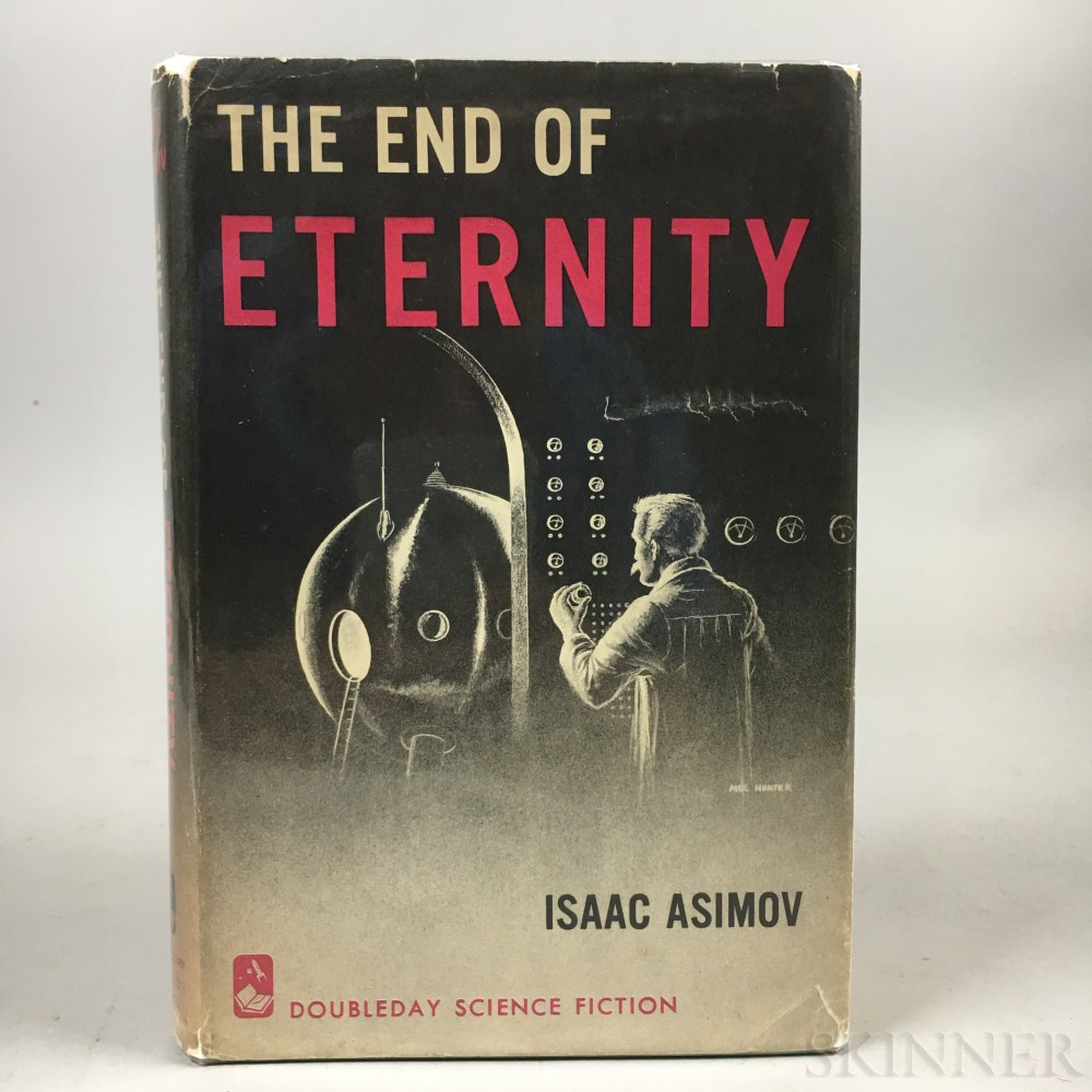 Asimov, Isaac (1920-1992) The End of Eternity  , Inscribed and Signed Copy.