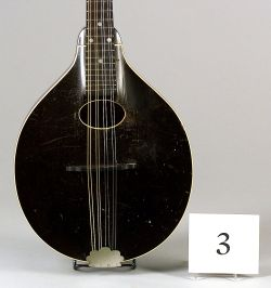 American Mandolin, Gibson Mandolin-Guitar Company, Kalamazoo, 1929, Model A-0