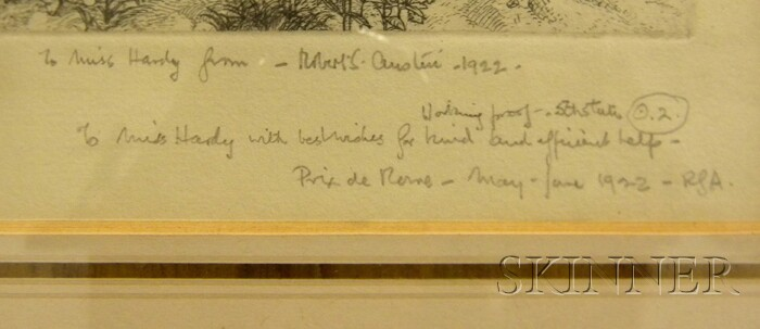 Robert Sargent Austin (British, 1895-1973)      Salus infirmorum