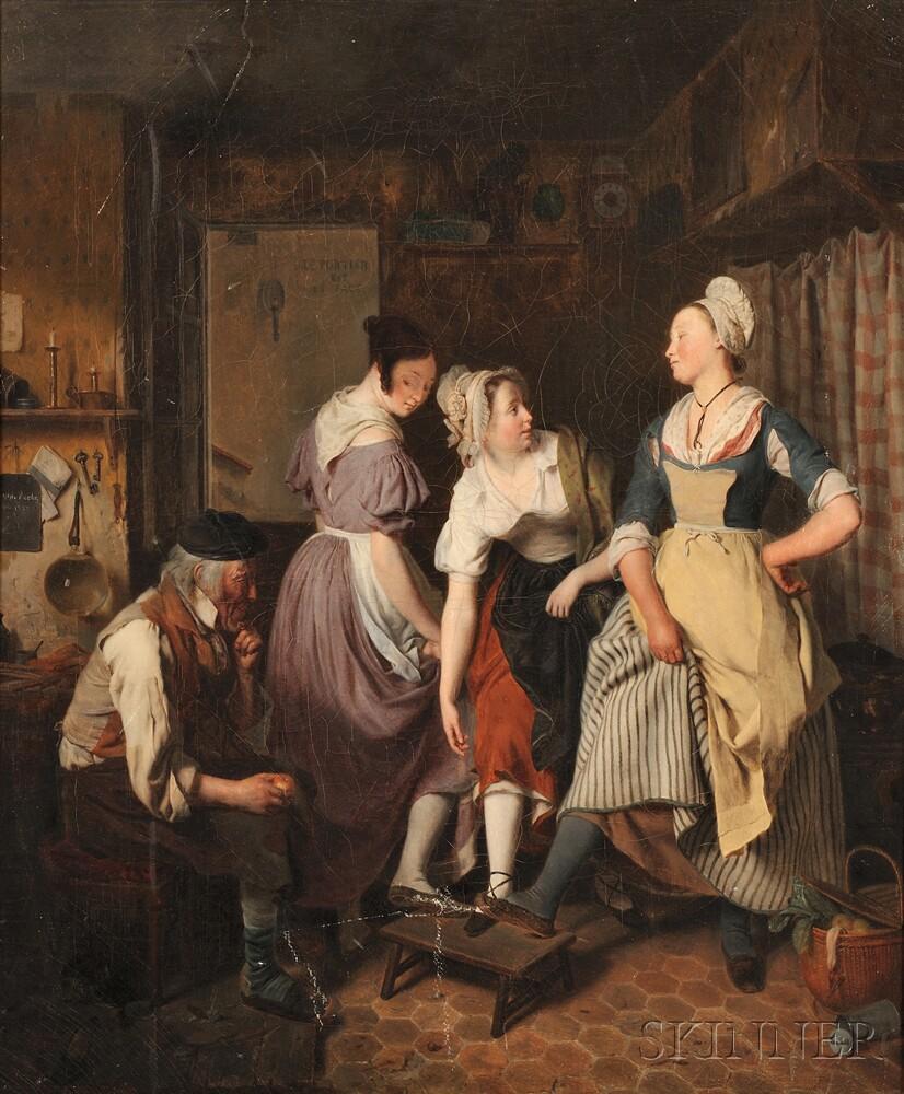 Jean Alphonse Roehn (French, 1799-1864)      A Modern Judgment of Paris