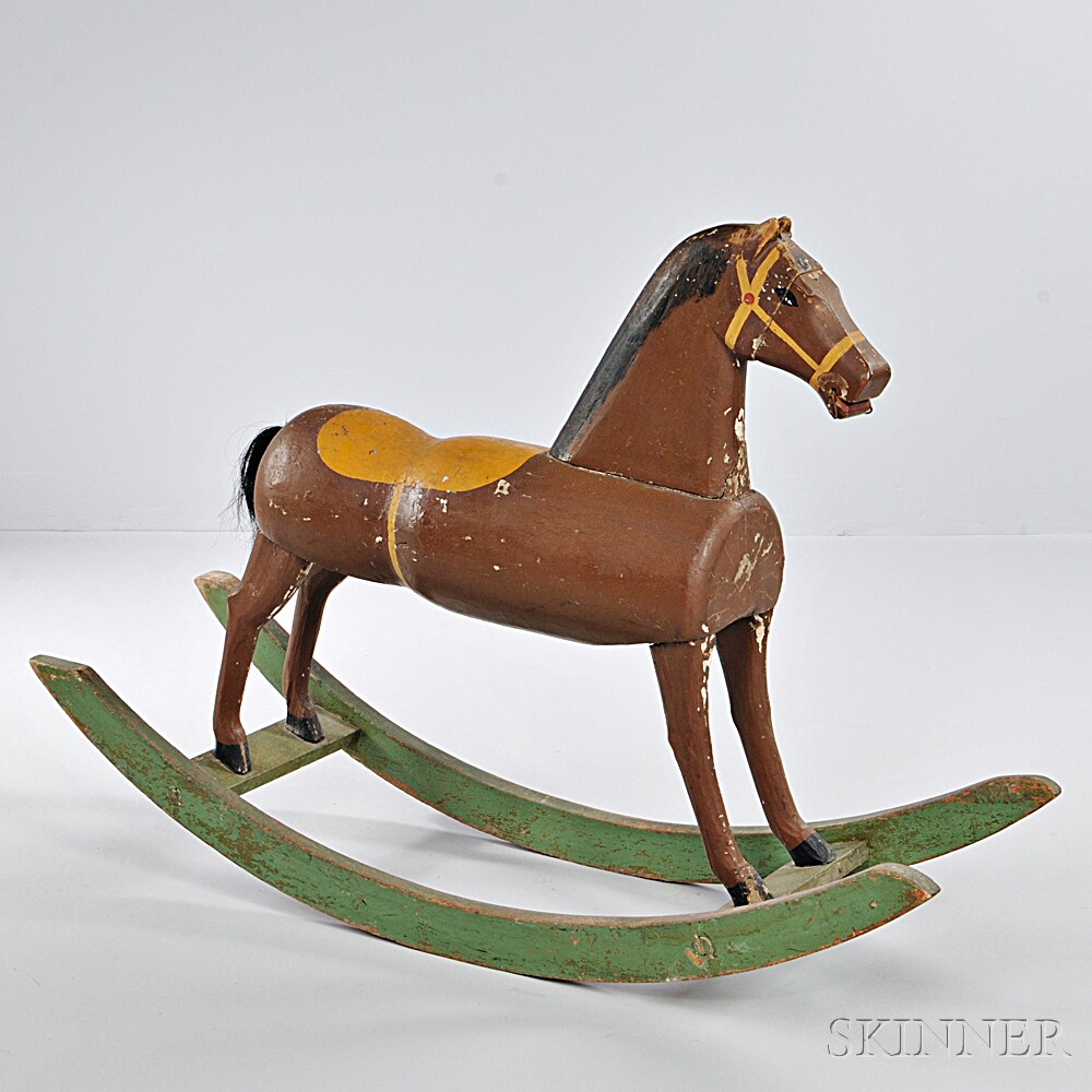 Paint-decorated Hobby Horse