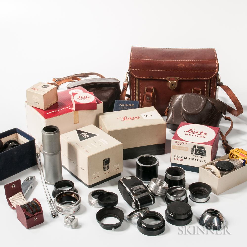 Collection of Camera Accessories
