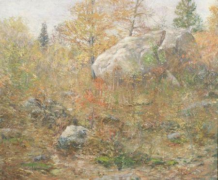 Byron W. Fellows (American, 20th Century)    October