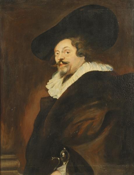 After Peter Paul Rubens (Flemish, 1577-1640)      Self Portrait