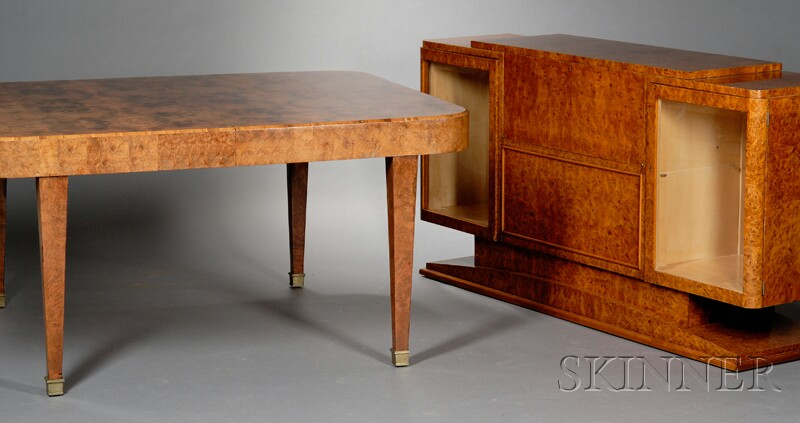 Art Deco Sideboard and Dining Table