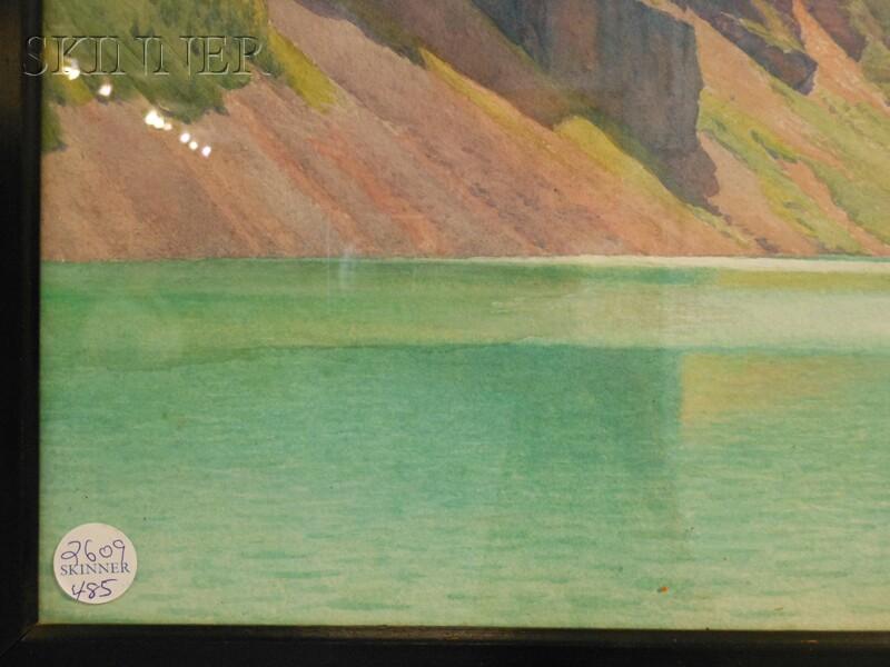 Harold Broadfield Warren (American, 1859 -1934)      Mountain Lake