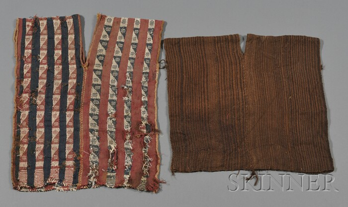 Two Pre-Columbian Textile Tunics