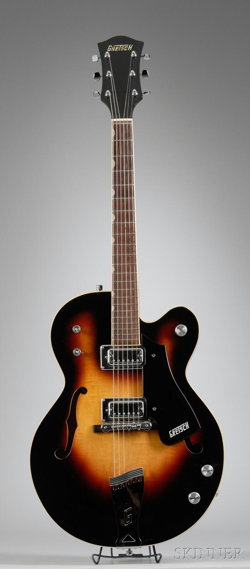 American Guitar, Gretsch Company, Brooklyn, 1972, Anniversary Model 7560