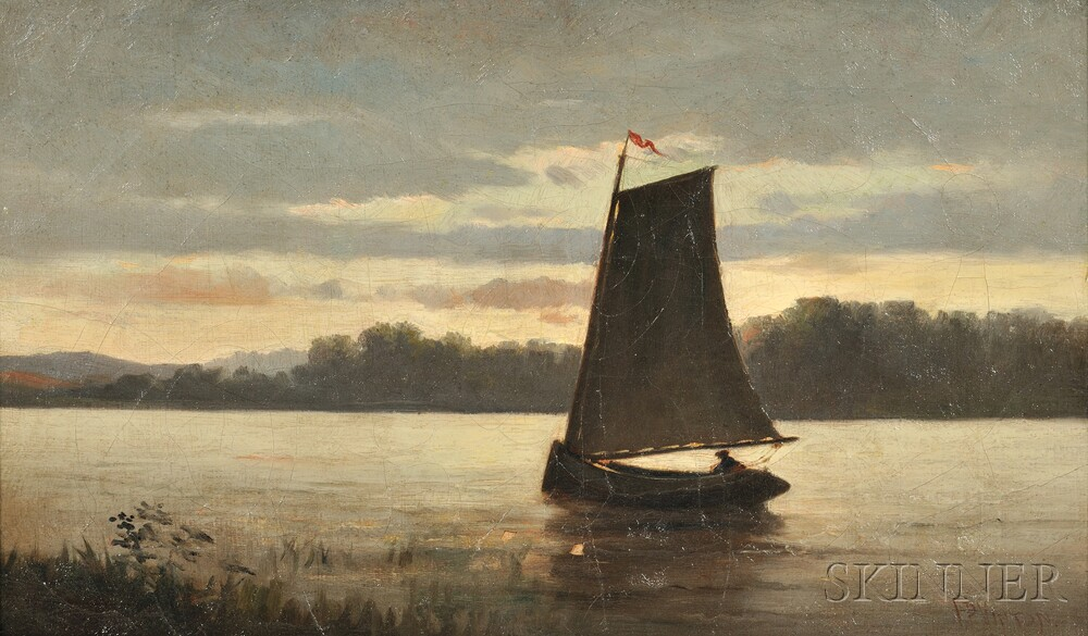 Frederic Porter Vinton (American, 1846-1911)      Spot Pond