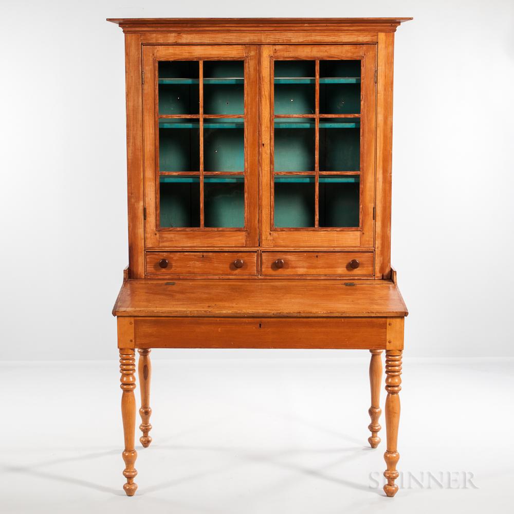Pine Secretary Desk