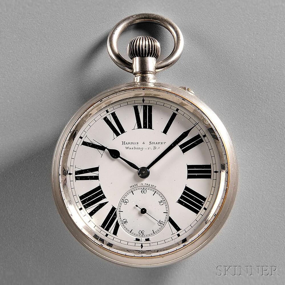 Harris & Shafer Silver Goliath Watch