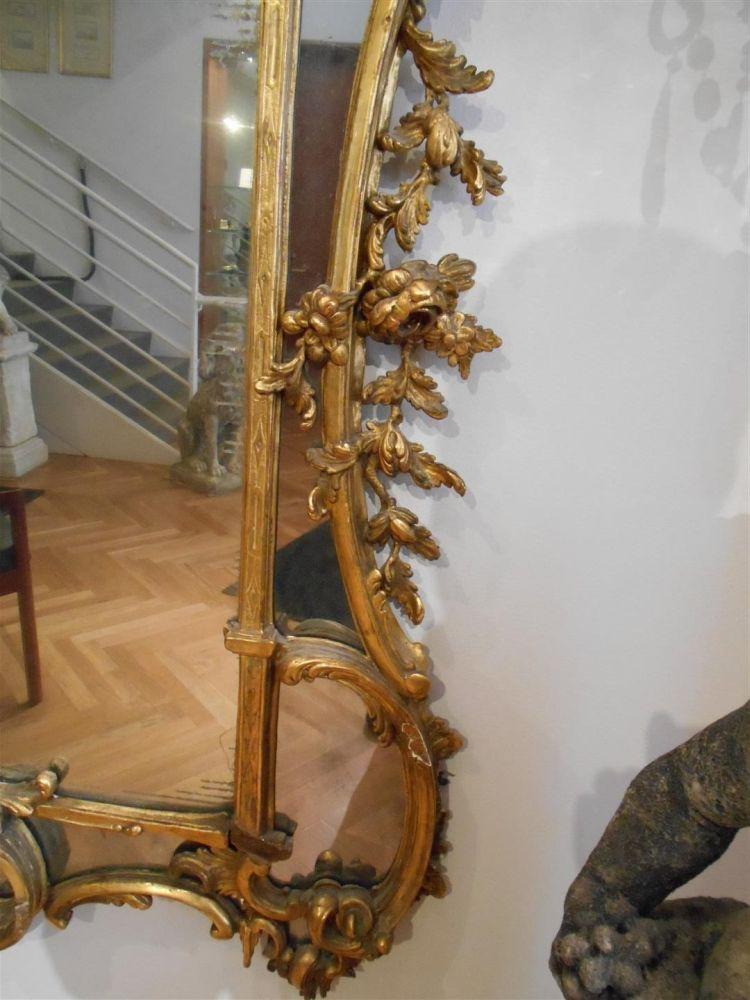 Louis XV-style Giltwood Mirror