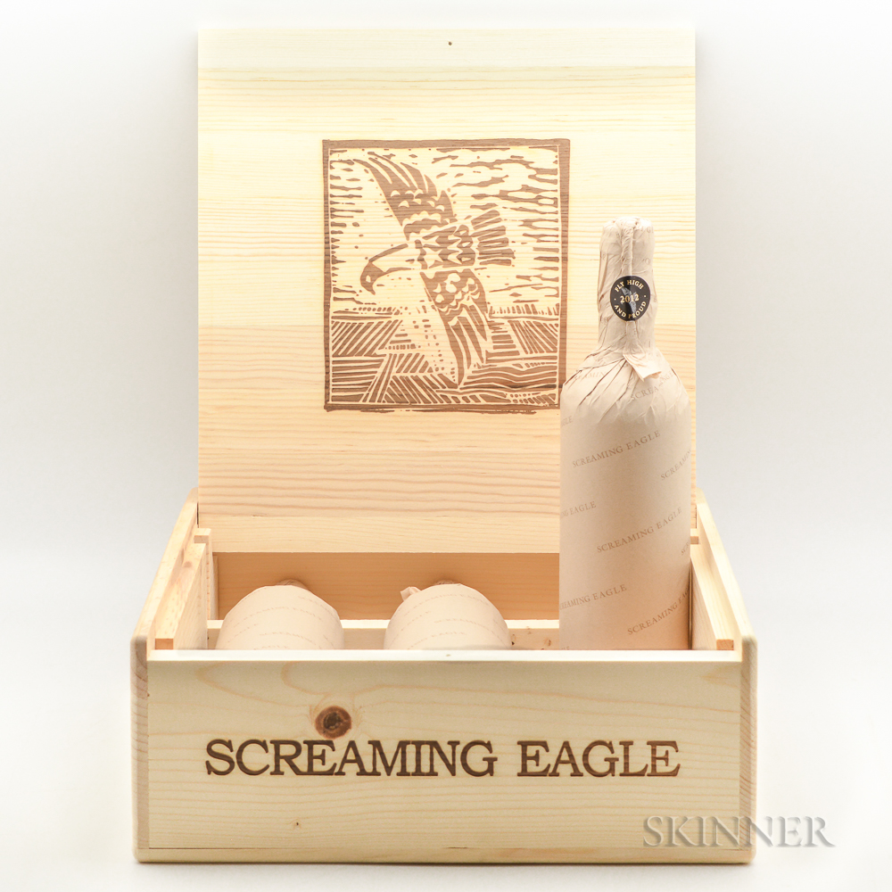 Screaming Eagle 2012, 3 bottles (owc)