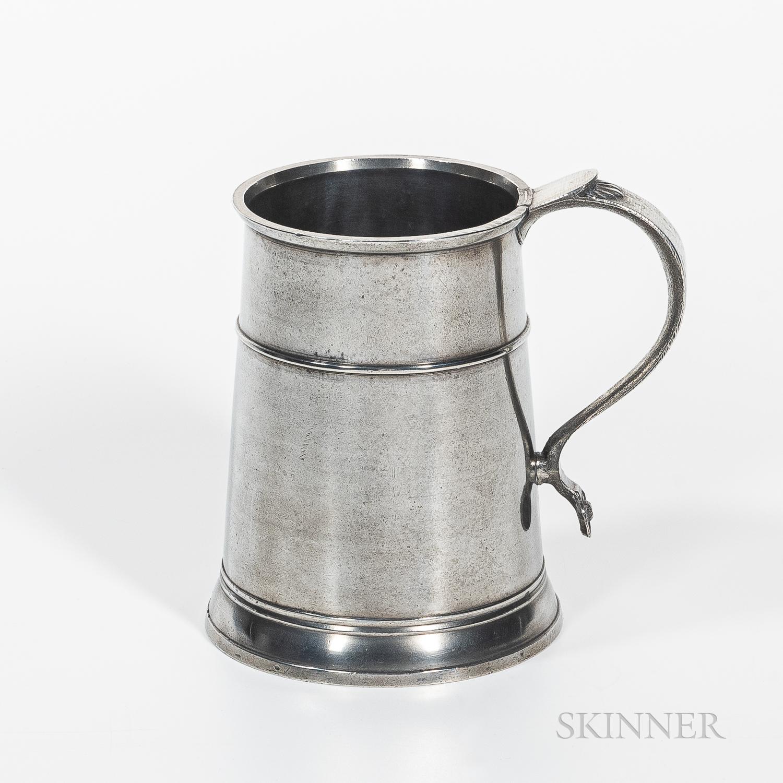 Nathaniel Austin Pewter Quart Mug