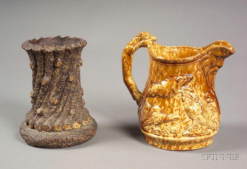 Two Earthenware Vessels