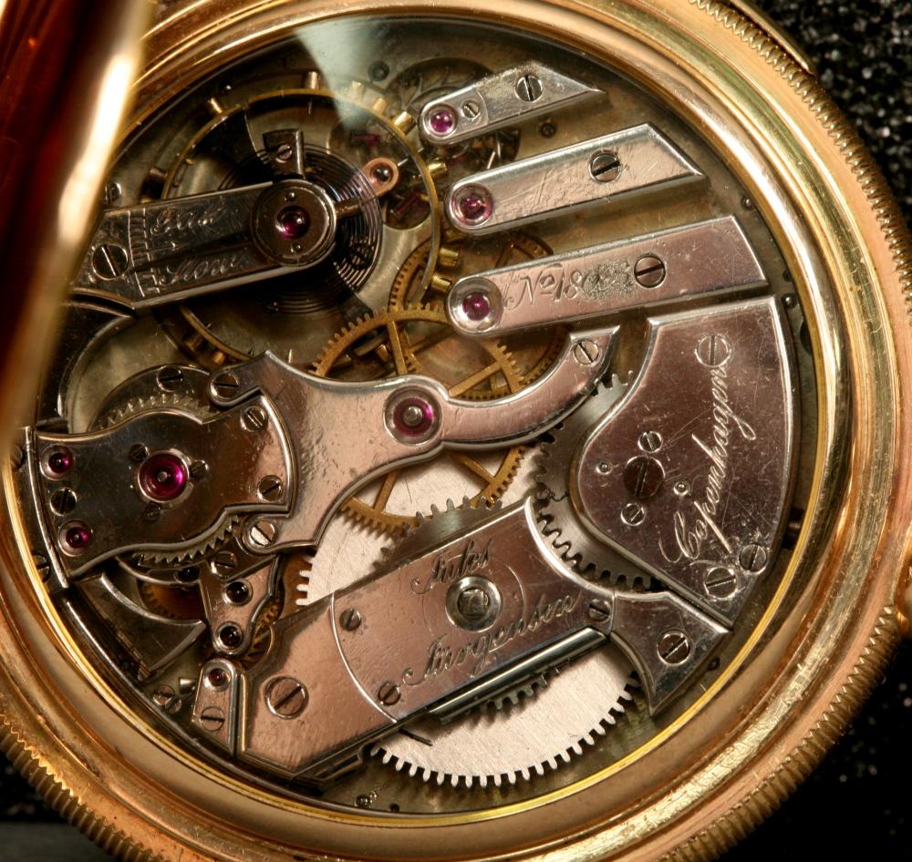 Jules Jurgensen 14kt Gold Five- minute Repeating Watch