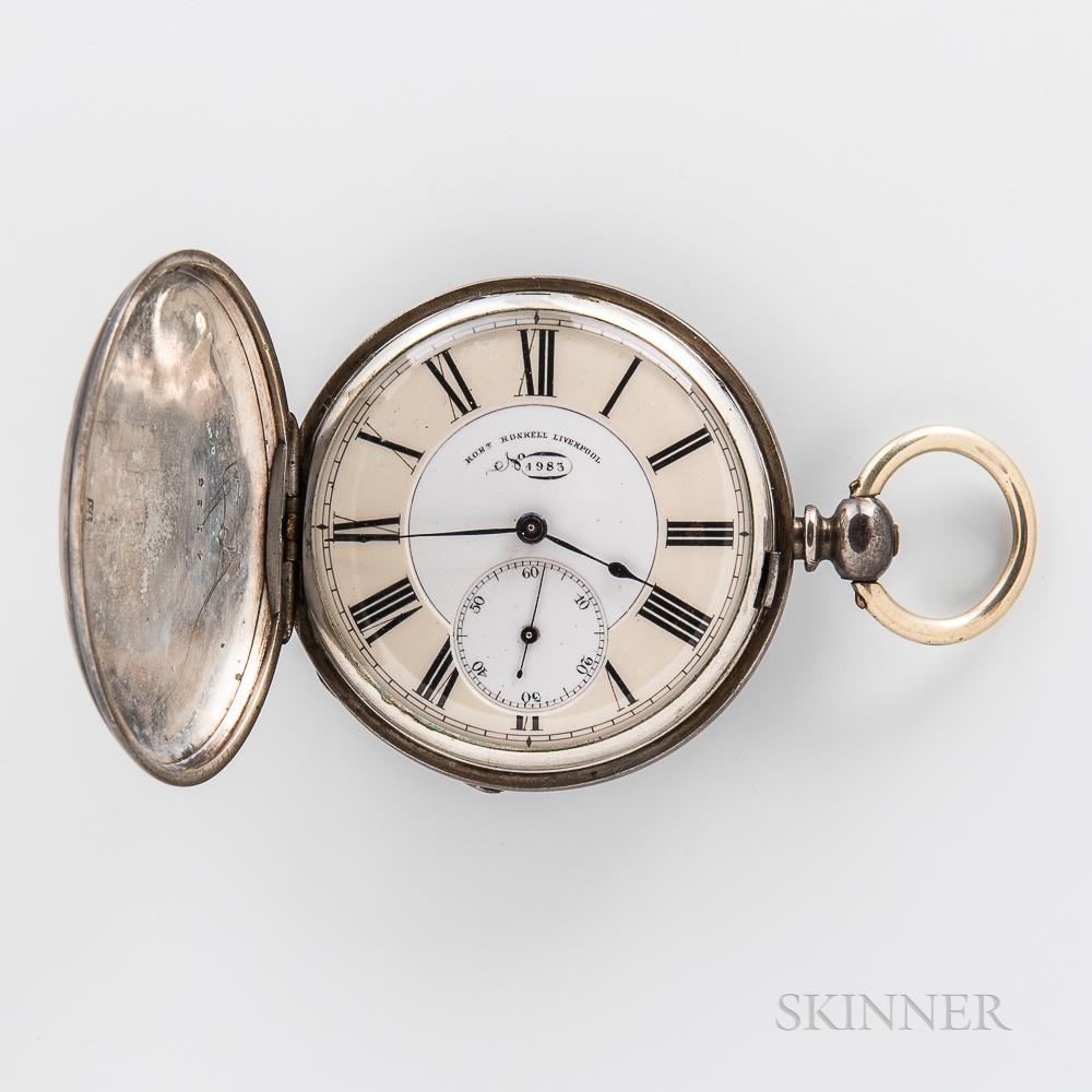 Robert Roskell No. 4983 Sterling Silver Hunter-case Watch