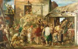 Jon Corbino (American, 1905-1964)  Harvest Festival