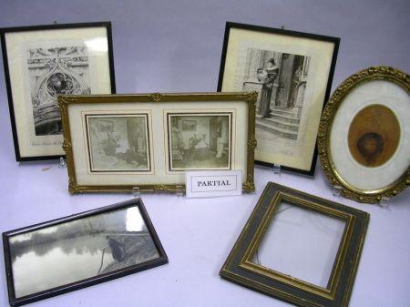 Group of Twenty-four Assorted Small Frames