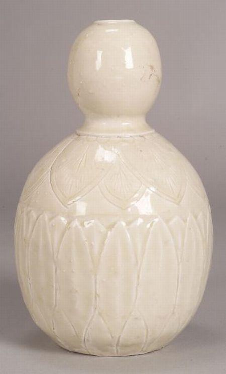 Moon White Vase