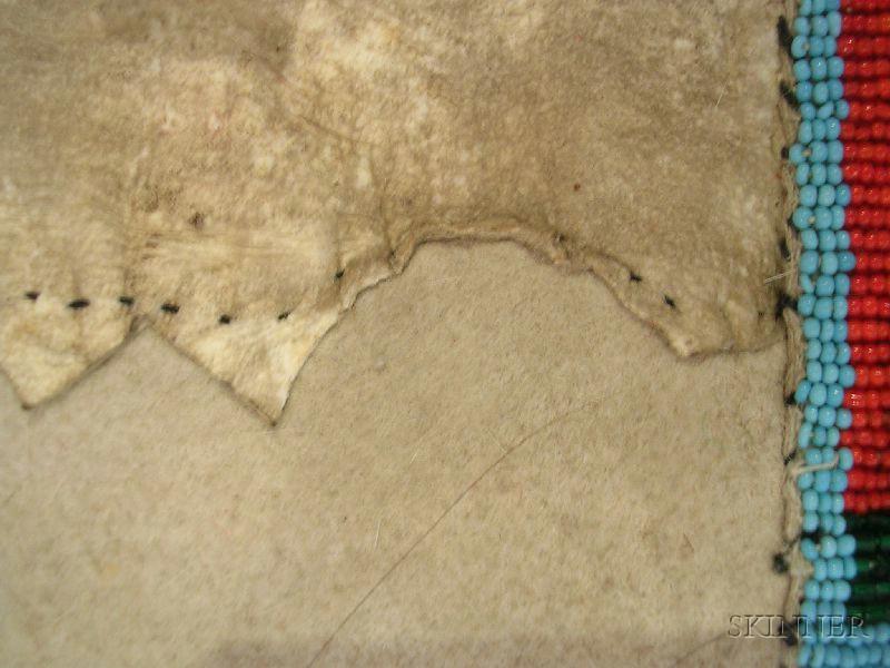 Northern Plains Man's Beaded Hide Shirt and Leggings