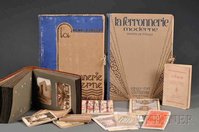 Collection of 1925 Paris Exhibition Literature