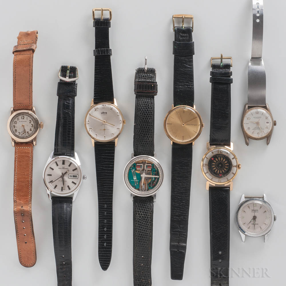 """Bulova """"Space View"""" Accutron and Seven Other Contemporary Wristwatches"""