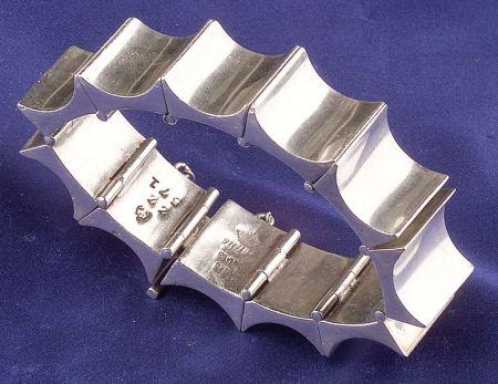Silver Bracelet, Antonio, Taxco