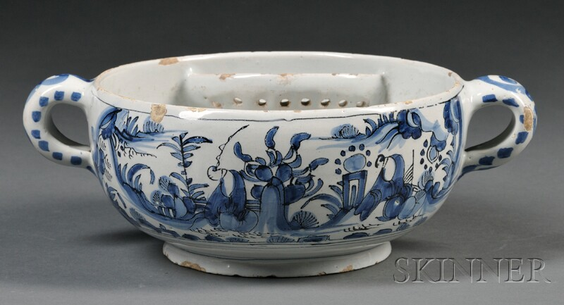 Dutch Delft Blue and White Bowl