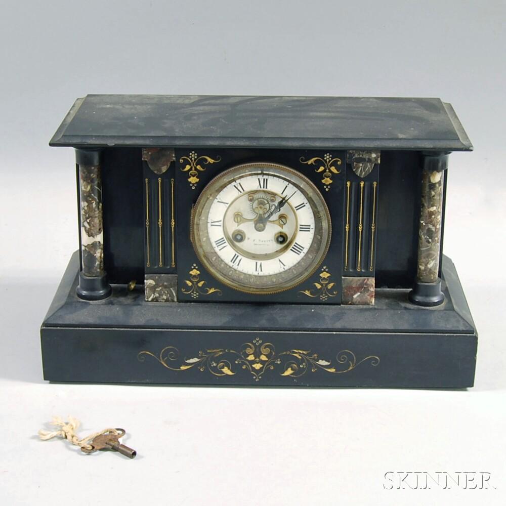 Dexter Slate Mantel Clock
