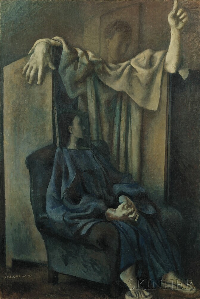 Pavel Tchelitchew (Russian/American, 1898-1957)      Annunciation