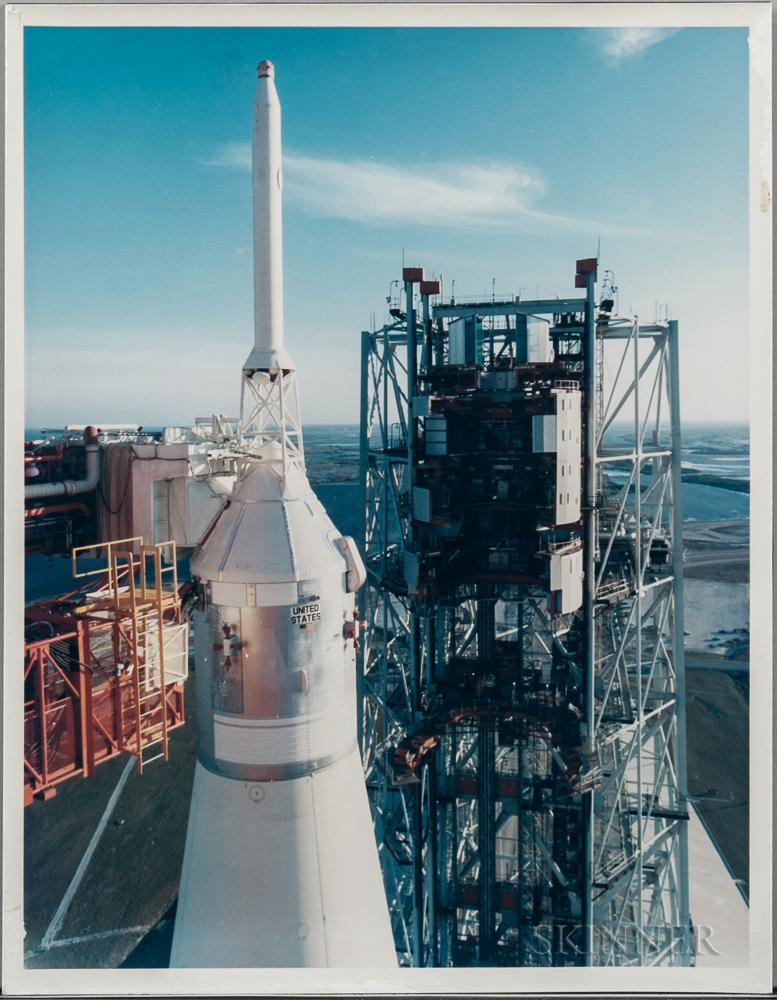 Apollo 14 Rollout, Three Photographs.
