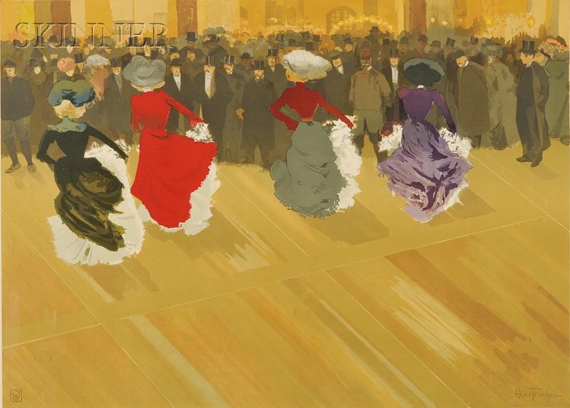 Louis Abel-Truchet (French, 1857-1918)      La quadrille