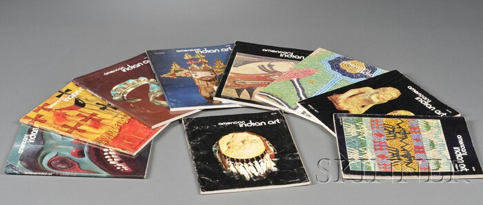 Set of American Indian Art   Magazines