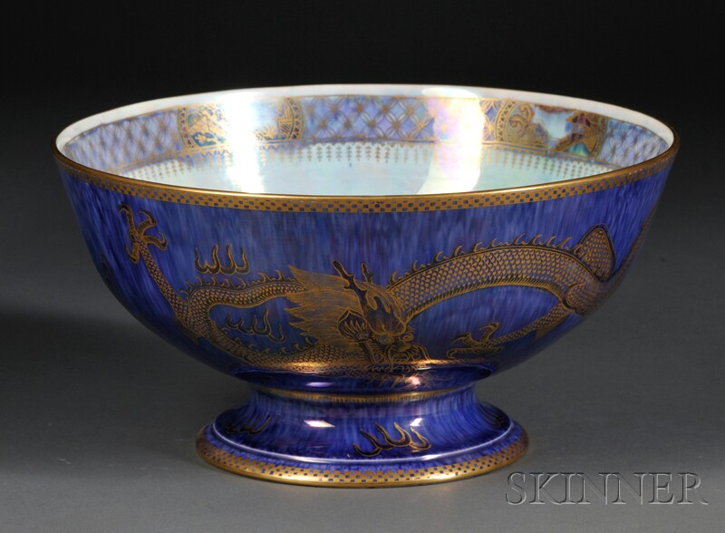 Wedgwood Dragon Lustre Punch Bowl