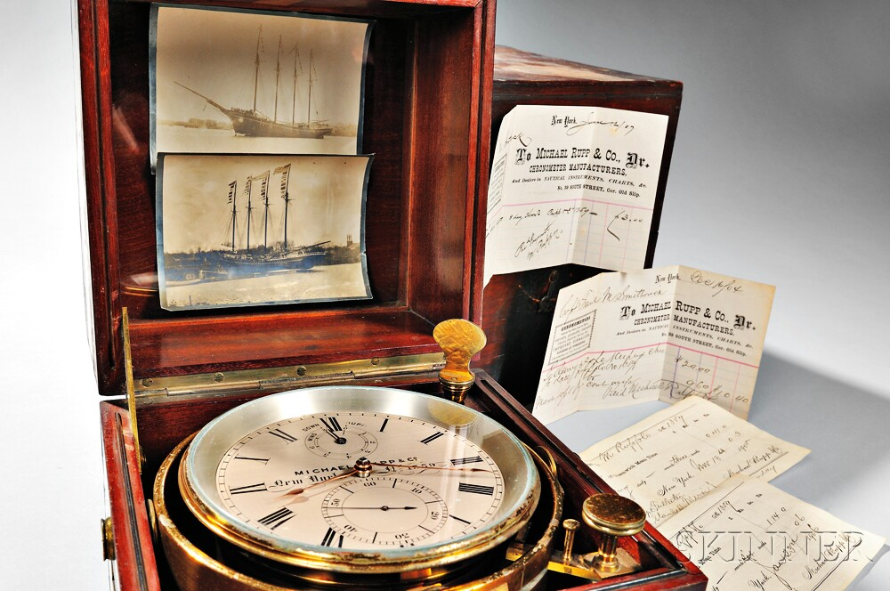 Michael Rupp Eight-day Marine Chronometer