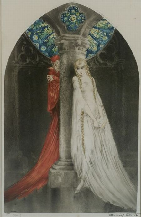 Louis Icart (French, 1888-1950)  Faust