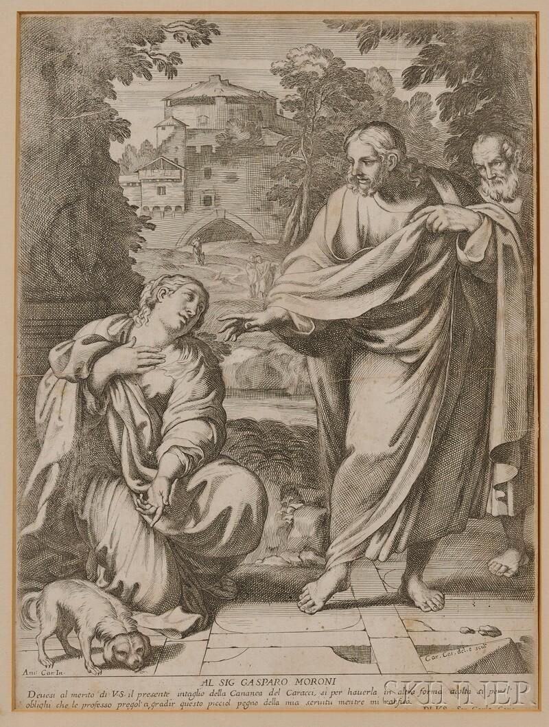 Carlo Cesio (Italian, 1626-1686), After Annibale Carracci