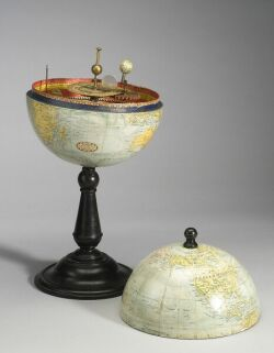 Combination Globe and Planetarium