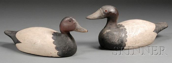 Two Waterbird Decoys
