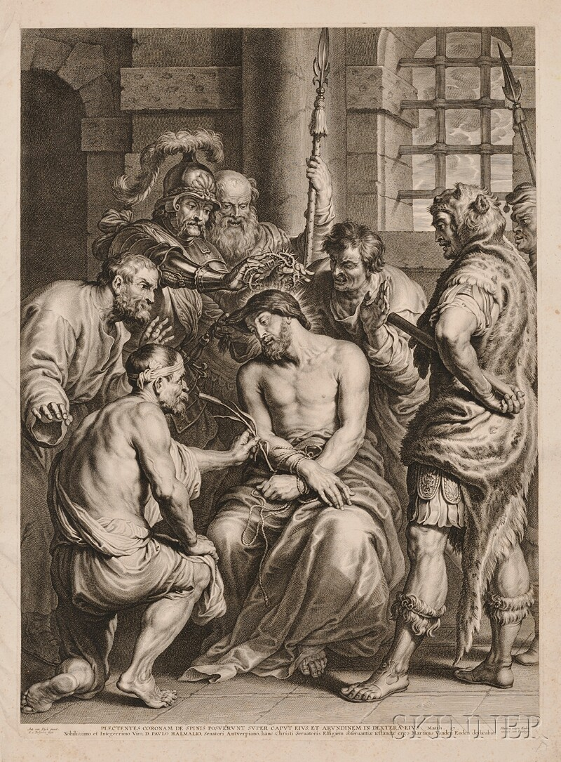 Schelte Adams Bolswert (Dutch, 1581-1659),      The Scourging of Christ