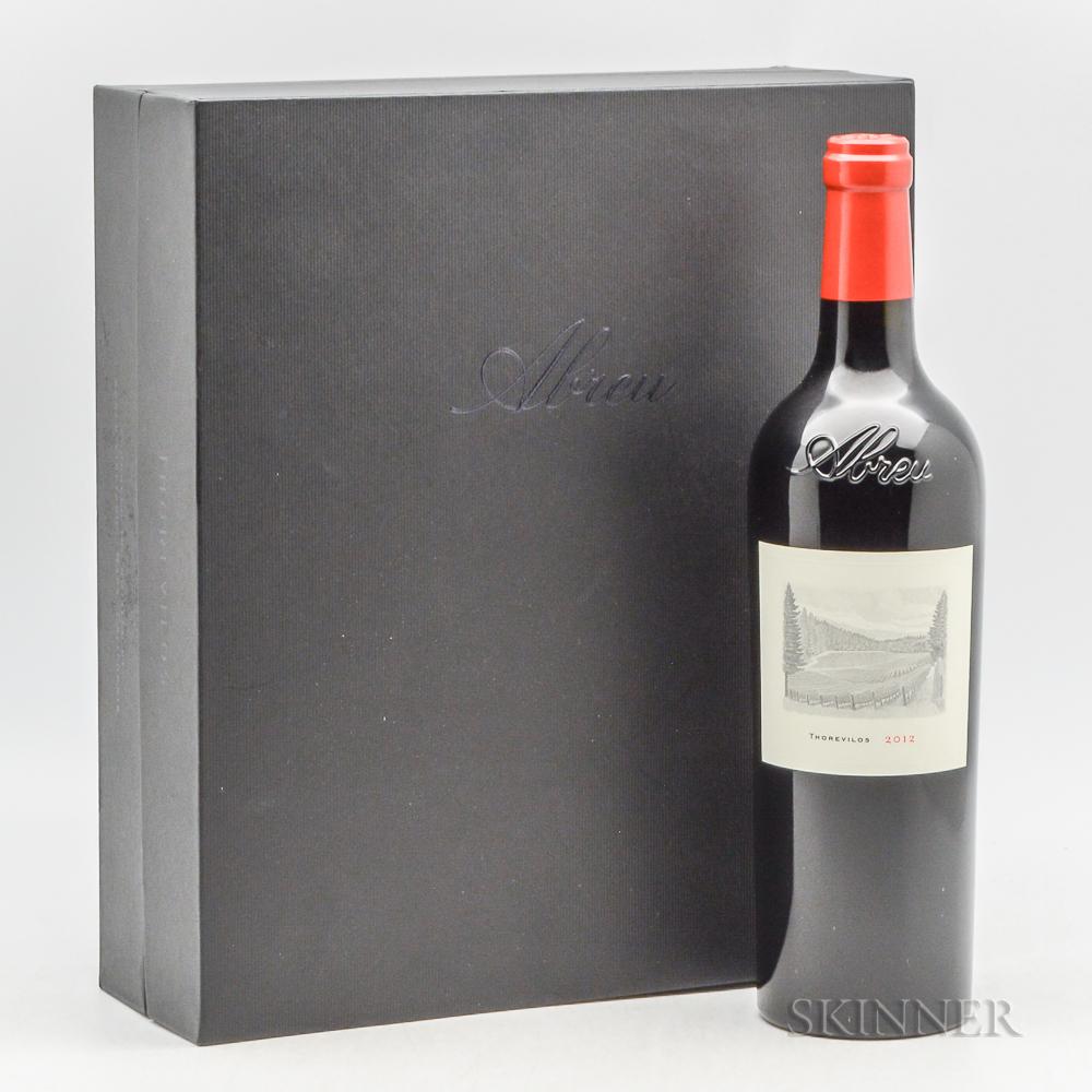 Abreu Thorevilos 2012, 3 bottles (oc)