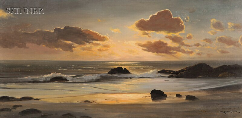 Robert William Wood (American, 1889-1979)      Sunset Cove