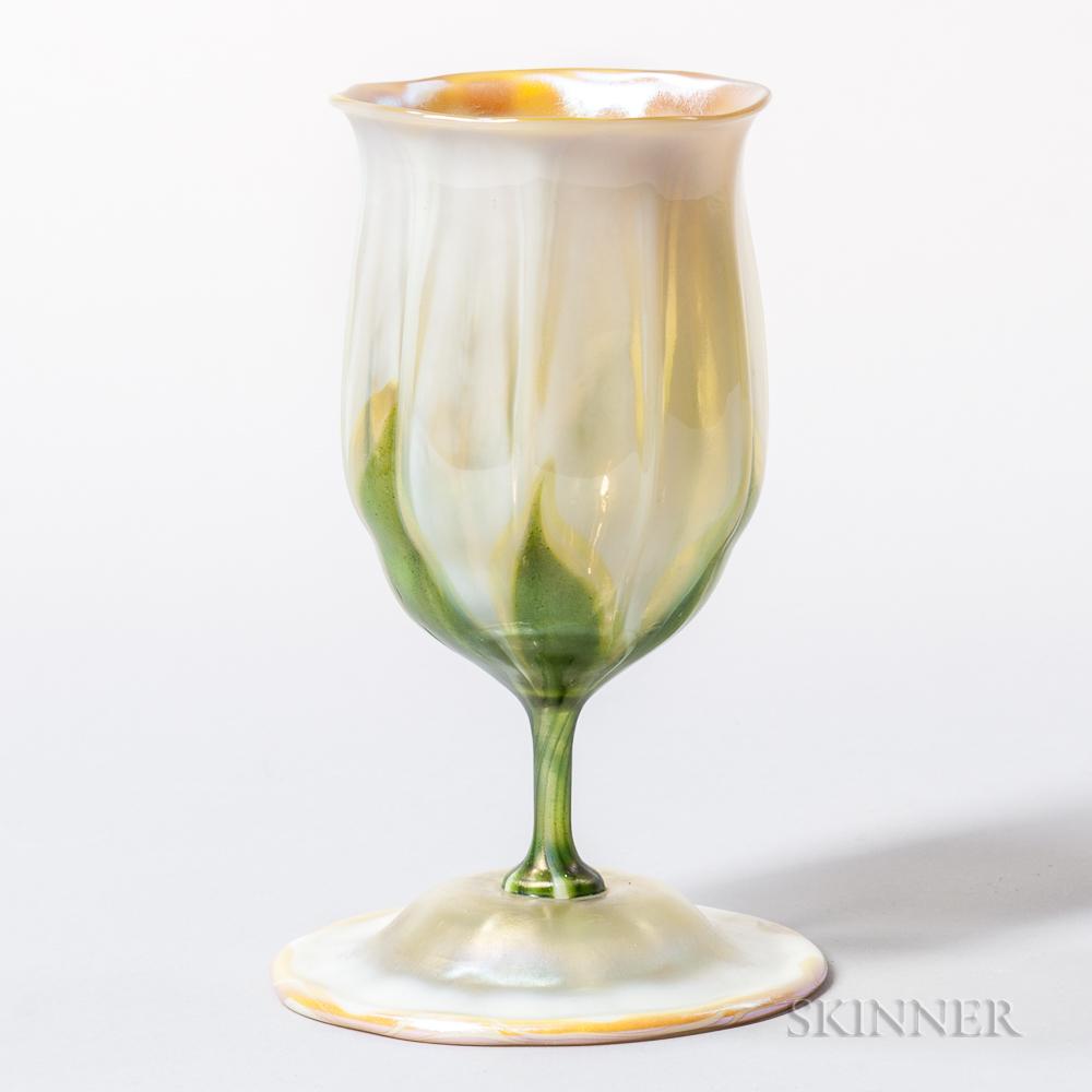 Tiffany Favrile Tulip Vase