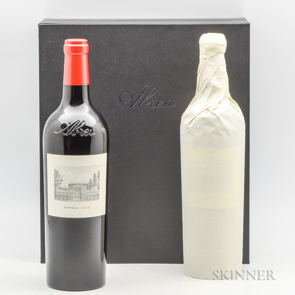 Abreu Cappella 2012, 3 bottles (oc)
