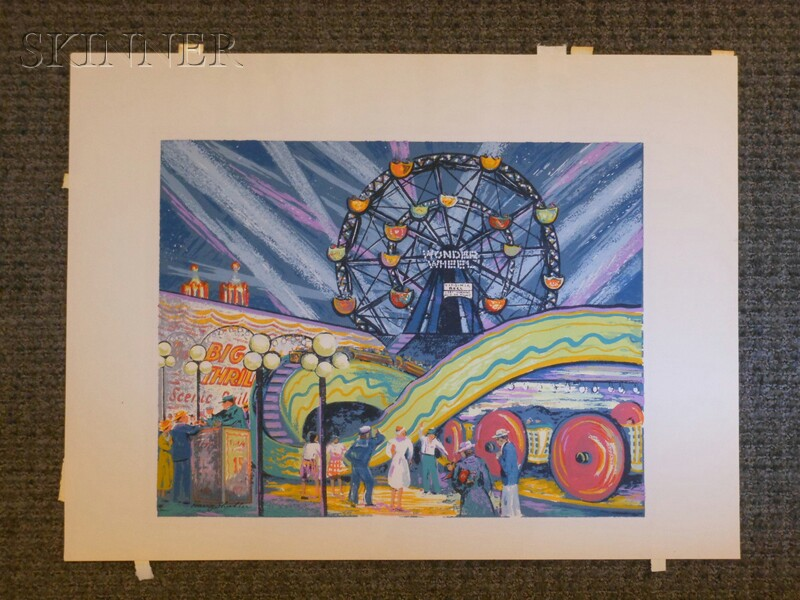 Harry Shokler (American, 1896-1978)      Coney Island