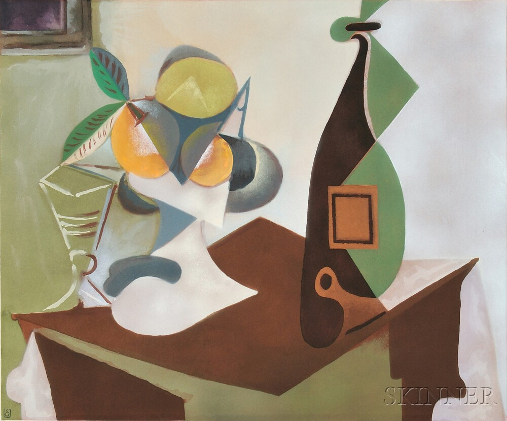 After Pablo Picasso (Spanish, 1881-1973) Nature morte au citron et ...