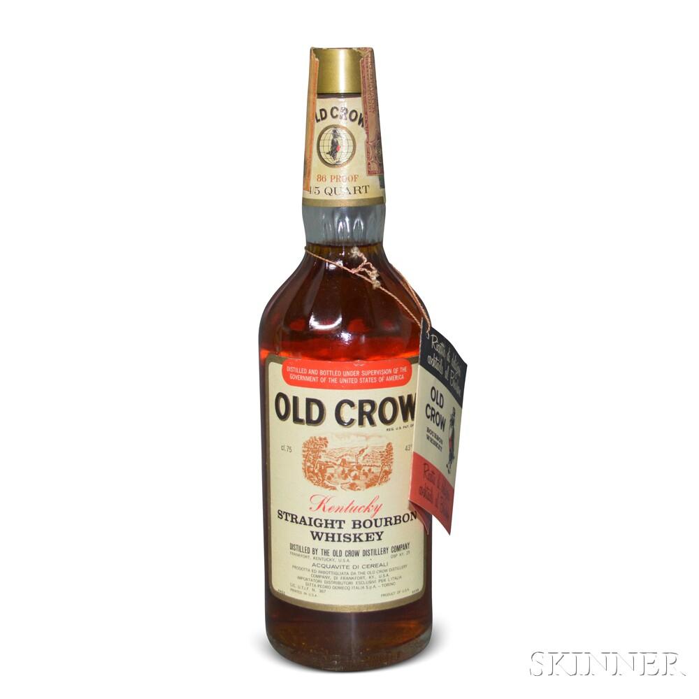 Old Crow Kentucky Straight Bourbon Whiskey, 1 4/5 quart bottle