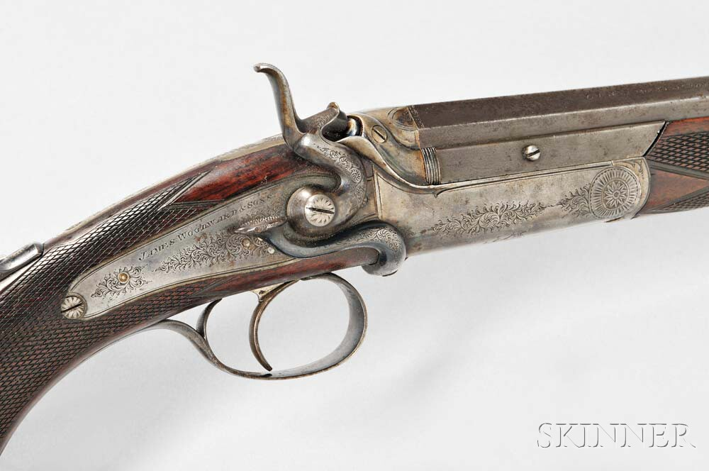 James Woodward & Sons Side-lever Rook Rifle